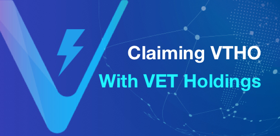 Claiming VTHO With VET Holdings